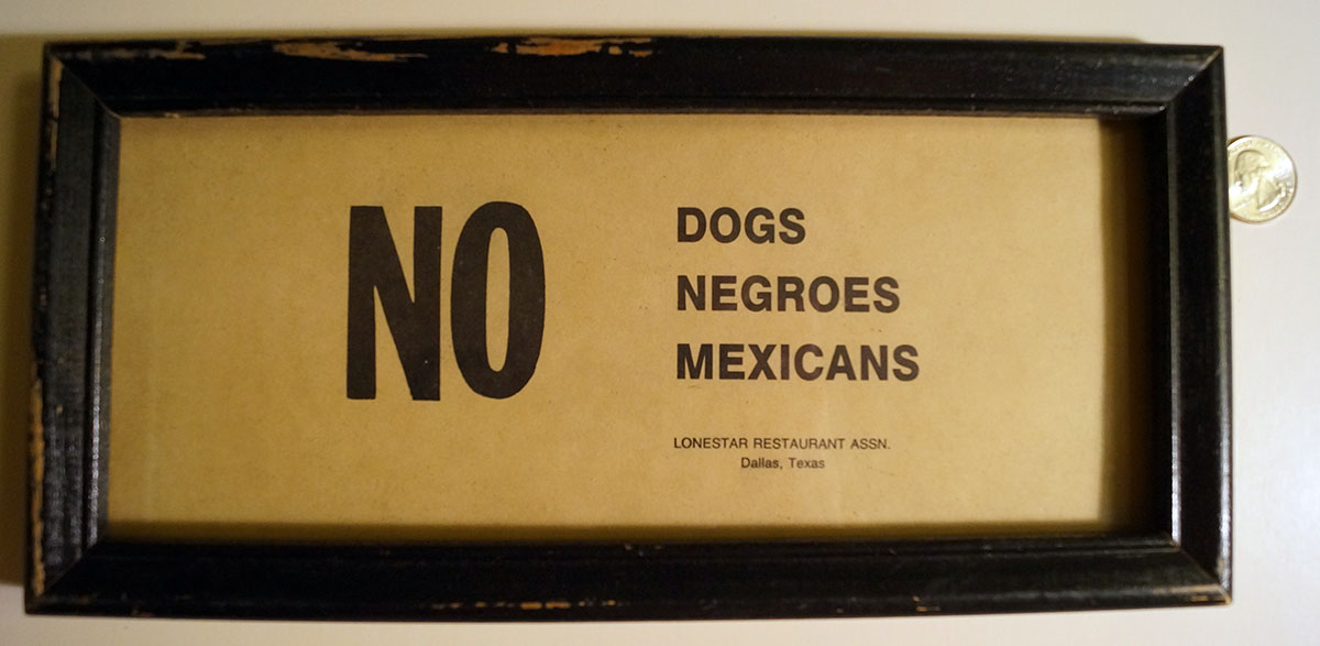 FROM SLAVERY TO SEGREGATION