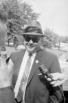 Alabama Sheriff Jim Clark at Microphone