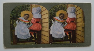 watermelon stereoview girl1