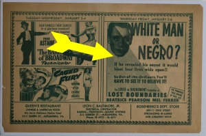 white man or negro