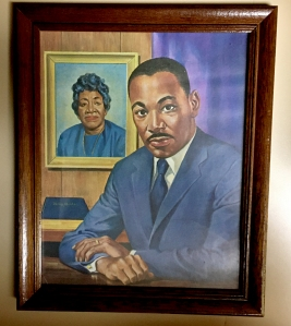 martin luther king and mother