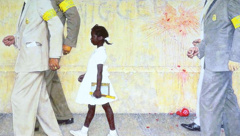 Ruby-Bridges-Norman-Rockwell